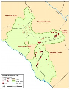 Metavolcanic Sites Long Cane Ranger District